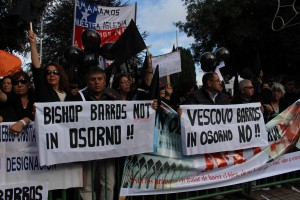 carteles contra Barros